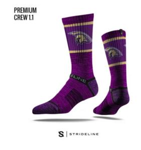 Strideline Spartan socks - purple